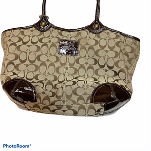 Primary Photo - BRAND: COACH O STYLE: HANDBAG DESIGNER COLOR: BROWN SIZE: LARGE OTHER INFO: AS IS - SEE INSIDE AND BACK SKU: 256-25611-40561