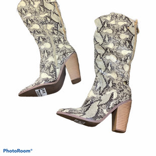 Primary Photo - BRAND:    CLOTHES MENTOR STYLE: BOOTS KNEE COLOR: SNAKESKIN PRINT SIZE: 7 SKU: 256-25673-9213