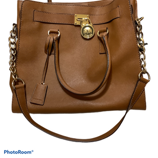Primary Photo - BRAND: MICHAEL KORS STYLE: HANDBAG DESIGNER COLOR: BROWN SIZE: LARGE SKU: 256-25612-66665