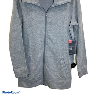 Primary Photo - BRAND: UNDER ARMOUR STYLE: JACKET OUTDOOR COLOR: GREY SIZE: S SKU: 256-25612-63836