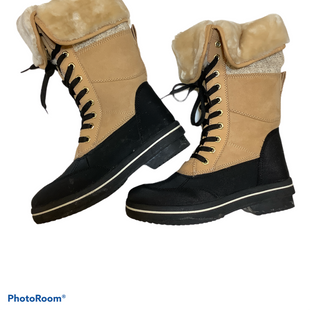 Primary Photo - BRAND: MADDEN GIRL STYLE: BOOTS RAIN COLOR: TAN SIZE: 6.5 SKU: 256-25686-802