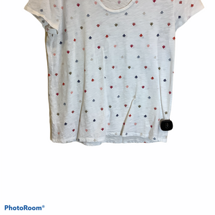 Primary Photo - BRAND: LOFT STYLE: TOP SHORT SLEEVE COLOR: WHITE SIZE: M SKU: 256-25612-56834