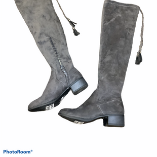 Primary Photo - BRAND: MADDEN GIRL STYLE: BOOTS KNEE COLOR: GREY SIZE: 6 SKU: 256-25673-9138