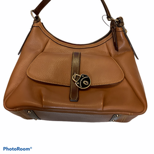 Primary Photo - BRAND: DOONEY AND BOURKE STYLE: HANDBAG DESIGNER COLOR: BROWN SIZE: LARGE OTHER INFO: SLIGHT WEAR ON CORNERS AND INSIDE SKU: 256-25612-65003