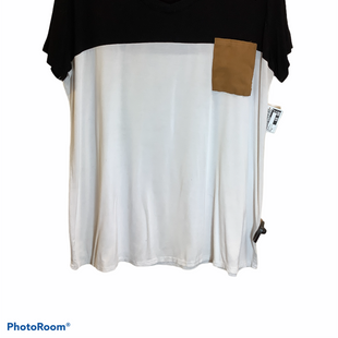 Primary Photo - BRAND:    CLOTHES MENTOR STYLE: TOP SHORT SLEEVE COLOR: BLACK WHITE SIZE: XL SKU: 256-25612-57002