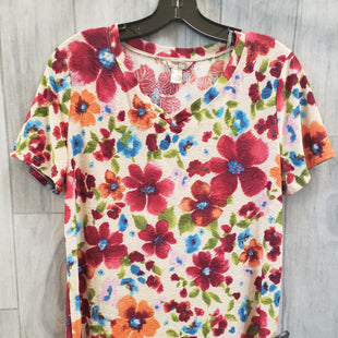Primary Photo - BRAND: WHITE STAG STYLE: TOP SHORT SLEEVE COLOR: FLORAL SIZE: S SKU: 256-25661-6760