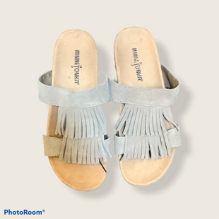 Primary Photo - BRAND: MINNETONKA STYLE: SANDALS FLAT COLOR: BROWN SIZE: 7 SKU: 256-25657-28975