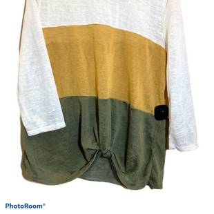 Primary Photo - BRAND: TRU SELF STYLE: TOP LONG SLEEVE COLOR: CREAM SIZE: XL SKU: 256-25678-3881