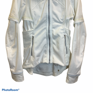 Primary Photo - BRAND: LULULEMON STYLE: ATHLETIC JACKET COLOR: WHITE SIZE: S SKU: 256-25612-63781