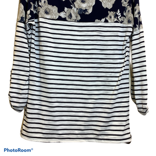 Primary Photo - BRAND:    CLOTHES MENTOR STYLE: TOP LONG SLEEVE COLOR: NAVY SIZE: M OTHER INFO: FASHIONISM - SKU: 256-25612-61264