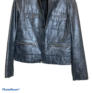 Primary Photo - BRAND:    CLOTHES MENTOR STYLE: BLAZER JACKET COLOR: SILVER SIZE: S OTHER INFO: D2K - SKU: 256-25661-17026