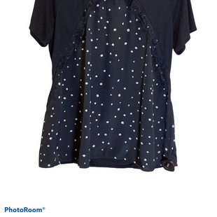 Primary Photo - BRAND: WORTHINGTON STYLE: TOP SHORT SLEEVE COLOR: BLACK SIZE: XL SKU: 256-25657-29007