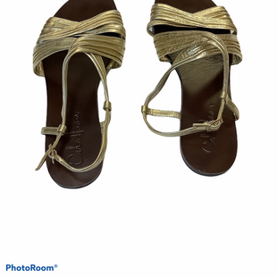 Primary Photo - BRAND: COLE-HAAN STYLE: SANDALS FLAT COLOR: GOLD SIZE: 6 SKU: 256-25678-4463