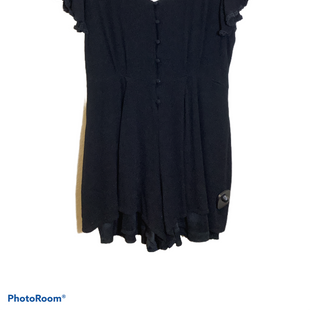Primary Photo - BRAND: BLUE RAIN STYLE: JUMPER SHORT SHORT SLEEVE COLOR: BLACK SIZE: LARGE SKU: 256-25653-10400