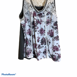 Primary Photo - BRAND: TAYLOR & SAGE STYLE: TOP SLEEVELESS COLOR: WHITE SIZE: XL SKU: 256-25661-13094