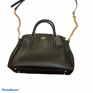 Primary Photo - BRAND: COACH STYLE: HANDBAG DESIGNER COLOR: BLACK SIZE: MEDIUM SKU: 256-25686-689