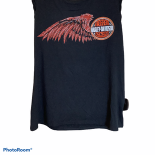 Primary Photo - BRAND: HARLEY DAVIDSON STYLE: TOP SLEEVELESS COLOR: BLACK SIZE: S SKU: 256-25611-40618