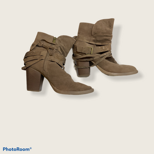 Primary Photo - BRAND: LANE BRYANT STYLE: BOOTS ANKLE COLOR: BROWN SIZE: 11 SKU: 256-25673-8854