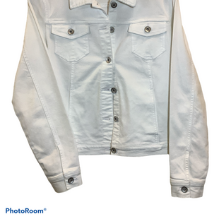 Primary Photo - BRAND: SUSAN GRAVER STYLE: JACKET OUTDOOR COLOR: WHITE SIZE: S SKU: 256-25612-64078