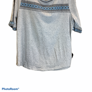 Primary Photo - BRAND: LOFT STYLE: TOP SHORT SLEEVE COLOR: GREY SIZE: XL SKU: 256-25612-57026