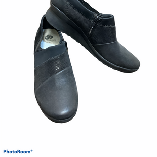 Primary Photo - BRAND: CLARKS STYLE: SHOES LOW HEEL COLOR: BLACK SIZE: 9.5 SKU: 256-25611-40584