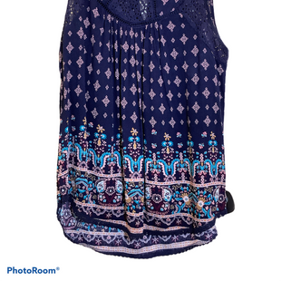 Primary Photo - BRAND: REWIND STYLE: TOP SLEEVELESS COLOR: BLUE SIZE: M SKU: 256-25681-7
