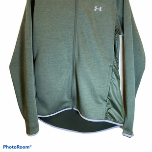 Primary Photo - BRAND: UNDER ARMOUR STYLE: ATHLETIC JACKET COLOR: GREEN SIZE: L SKU: 256-25661-18073