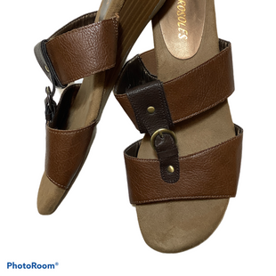 Primary Photo - BRAND: AEROSOLES STYLE: SANDALS FLAT COLOR: BROWN SIZE: 6.5 SKU: 256-25612-66159