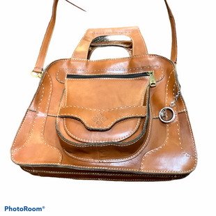 Primary Photo - BRAND: PATRICIA NASH STYLE: HANDBAG DESIGNER COLOR: BROWN SIZE: MEDIUM SKU: 256-25611-40733