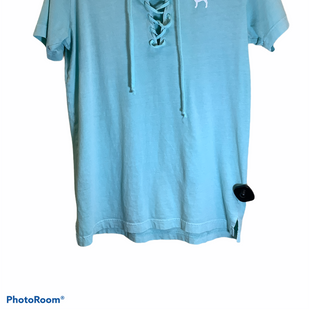 Primary Photo - BRAND: PINK STYLE: TOP SHORT SLEEVE COLOR: BLUE SIZE: XS SKU: 256-25612-67731
