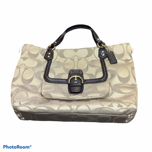 Primary Photo - BRAND: COACH STYLE: HANDBAG DESIGNER COLOR: TAN SIZE: LARGE OTHER INFO: AS IS SKU: 256-25612-64994