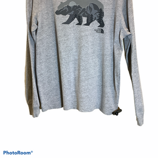 Primary Photo - BRAND: NORTHFACE STYLE: TOP LONG SLEEVE COLOR: GREY SIZE: L SKU: 256-25612-64019