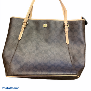 Primary Photo - BRAND: COACH STYLE: HANDBAG DESIGNER COLOR: BROWN SIZE: LARGE SKU: 256-25612-64992