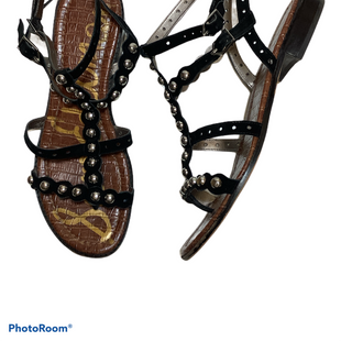 Primary Photo - BRAND: SAM EDELMAN STYLE: SANDALS FLAT COLOR: BLACK SIZE: 11 SKU: 256-25611-40046