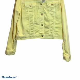 Primary Photo - BRAND: MICHAEL BY MICHAEL KORS STYLE: JACKET OUTDOOR COLOR: YELLOW SIZE: L OTHER INFO: NEW! SKU: 256-25661-14042