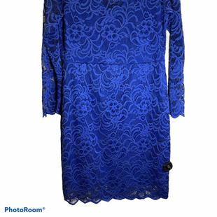 Primary Photo - BRAND: AMBIANCE STYLE: DRESS SHORT LONG SLEEVE COLOR: BLUE SIZE: XL OTHER INFO: NEW! SKU: 256-25661-17759