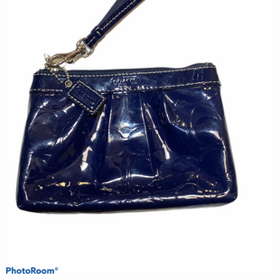 Primary Photo - BRAND: COACH STYLE: WRISTLET COLOR: BLUE SKU: 256-25611-39275