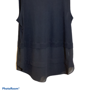 Primary Photo - BRAND: MICHAEL BY MICHAEL KORS STYLE: TOP SLEEVELESS COLOR: BLACK SIZE: XL SKU: 256-25661-11957