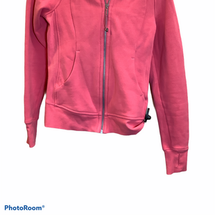 Primary Photo - BRAND: LULULEMON STYLE: ATHLETIC JACKET COLOR: ORANGE SIZE: S SKU: 256-25612-63786