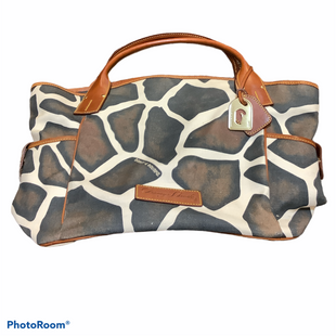 Primary Photo - BRAND: DOONEY AND BOURKE STYLE: HANDBAG DESIGNER COLOR: ANIMAL PRINT SIZE: LARGE SKU: 256-25678-7238