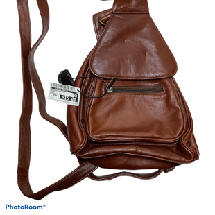 Primary Photo - BRAND:    CLOTHES MENTOR STYLE: HANDBAG LEATHER COLOR: BROWN SIZE: SMALL SKU: 256-25678-7508