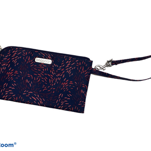 Primary Photo - BRAND: BAGGALLINI STYLE: WRISTLET COLOR: NAVY SKU: 256-25678-7452