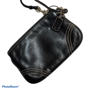 Primary Photo - BRAND: COACH STYLE: WRISTLET COLOR: BLACK OTHER INFO: DESIGNER SKU: 256-25612-65753