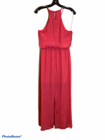 Photo #1 - BRAND: LILY ROSE <BR>STYLE: DRESS LONG SLEEVELESS <BR>COLOR: CORAL <BR>SIZE: M <BR>SKU: 256-25661-9183
