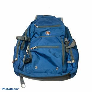 Primary Photo - BRAND:    CLOTHES MENTOR STYLE: BACKPACK COLOR: BLUE SIZE: LARGE OTHER INFO: WENGER - SKU: 256-25673-11866
