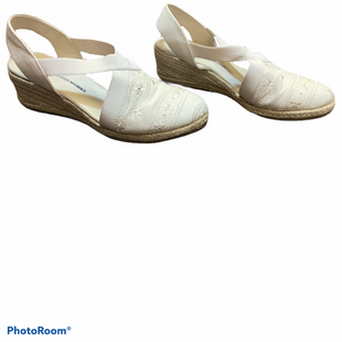Primary Photo - BRAND: STUDIO WORKS STYLE: SHOES LOW HEEL COLOR: CREAM SIZE: 8.5 SKU: 256-25673-8914