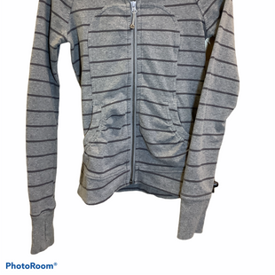 Primary Photo - BRAND: LULULEMON STYLE: ATHLETIC JACKET COLOR: GREY SIZE: S SKU: 256-25612-63780
