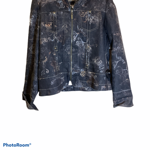 Primary Photo - BRAND: COLDWATER CREEK O STYLE: JACKET OUTDOOR COLOR: DENIM SIZE: M SKU: 256-25611-40133