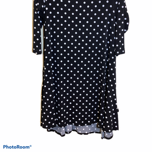 Primary Photo - BRAND: NINA LEONARD STYLE: DRESS SHORT LONG SLEEVE COLOR: POLKADOT SIZE: M SKU: 256-25611-35577