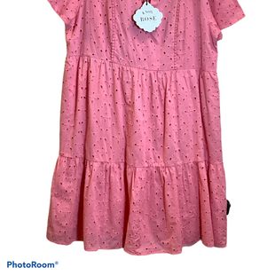 Primary Photo - BRAND: KNOX ROSE STYLE: DRESS SHORT SHORT SLEEVE COLOR: PINK SIZE: L OTHER INFO: NEW! SKU: 256-25661-16983